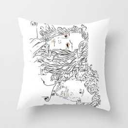 Years go by Throw Pillow