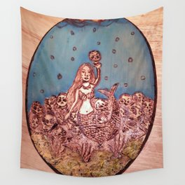 The Siren's Seduction Wall Tapestry