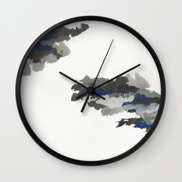 clouds_october Wall Clock