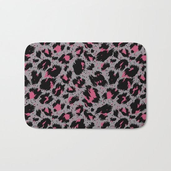 tiger pattern Bath Mat