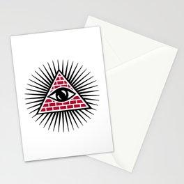 Freemasonic eye Stationery Cards