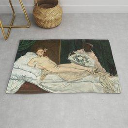Olympia, Édouard Manet Rug