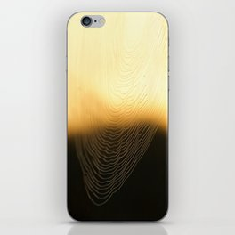 Cobwebs of autumn iPhone Skin