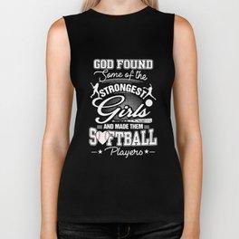 god found some of the softball Biker Tank