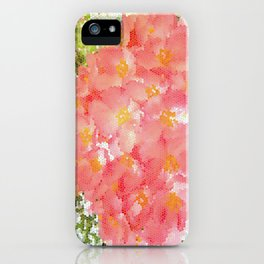 Mexico Blossom Pink & Yellow Flower iPhone Case