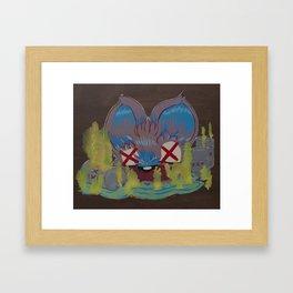 Slated for Crashville Framed Art Print