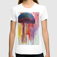 mushrooms T-shirts featuring Mushrooms by Lynnea Pennington