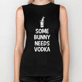 Some Bunny Needs Vodka Liquor Easter Joke Biker Tank
