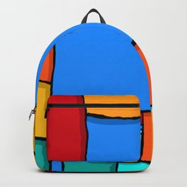 Cargo Ship Containers 11 Backpack