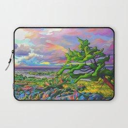 Windswept Juniper by Amanda Martinson Laptop Sleeve