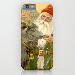 """""""The Sled Goat"""" by Jenny Nystrom iPhone Case"""