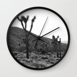 Joshua Tree at Dusk Wall Clock