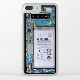 samsung s10 internals Clear iPhone Case