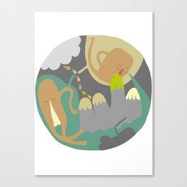 Entanglements 3 Canvas Print