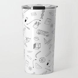 School pattern Travel Mug