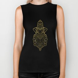 Aquarius Gold Biker Tank