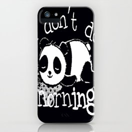 Panda #4 iPhone Case