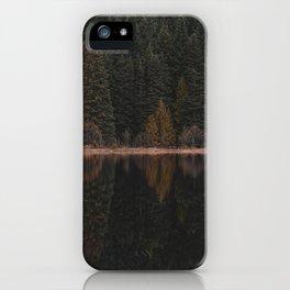 Trillium Lake iPhone Case