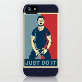 Shia Labeouf Just Do It iPhone Case