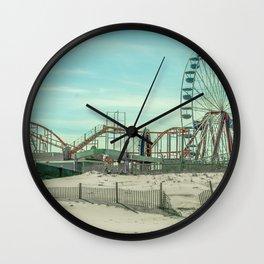 Fun On The Beach Wall Clock