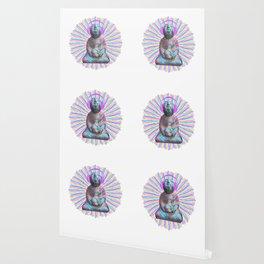 Electric Budha Wallpaper