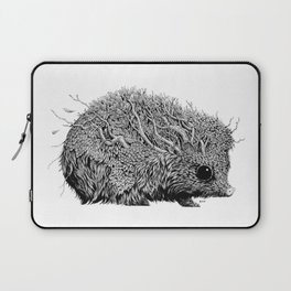 Leaf Hedgehog Laptop Sleeve
