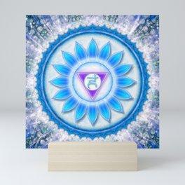 Vishuddha Chakra Series VI Mini Art Print