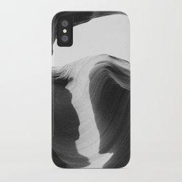 ANTELOPE CANYON II (B+W) iPhone Case