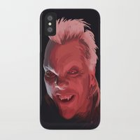 david fleck iPhone & iPod Cases featuring David by Jehzbell Black