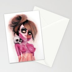Become Fuchsia Stationery Cards