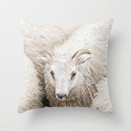 The Fluff Throw Pillow