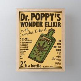Dr. Poppy's Wonder Elixir Framed Mini Art Print