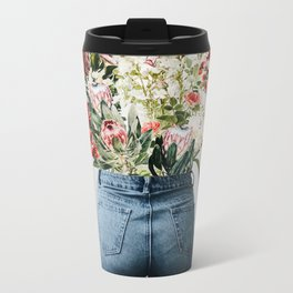 Bottomless Bouquet Metal Travel Mug