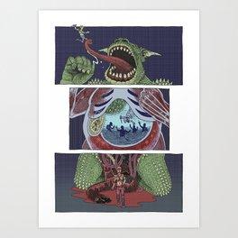 Troll Killer Art Print