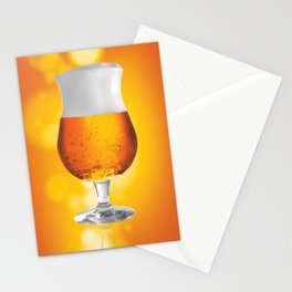 Belgian Beer 3 Stationery Cards