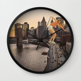 Nothing can stop us Wall Clock