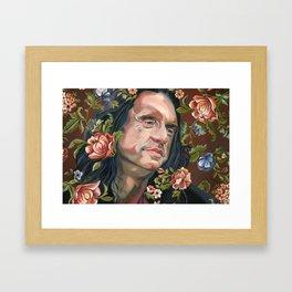 Johnny Framed Art Print