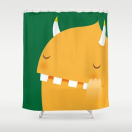 Ivy, the monster Shower Curtain