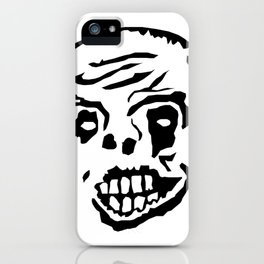 Scary Zombie iPhone Case