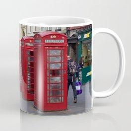 Telephone Booths Royal Mile Edinburgh Coffee Mug