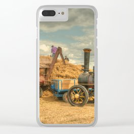 Dorset Threshing Clear iPhone Case