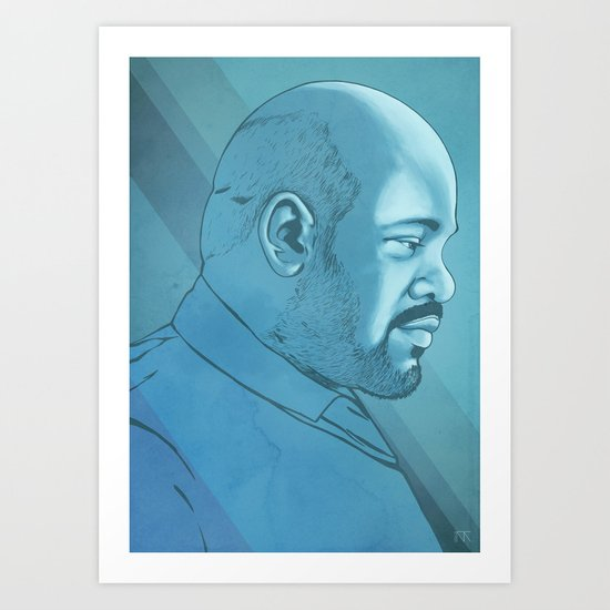 James Avery Tribute Art Print