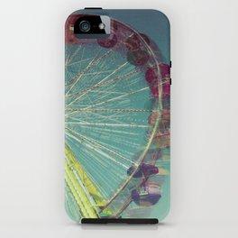 Fair in Motion: Ferris Wheel iPhone Case