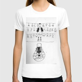 Eleven and the upside down T-shirt