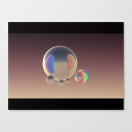 Future Reflection  Canvas Print