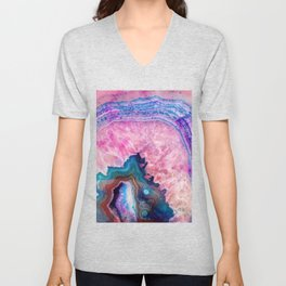 Agate #society6 #decor #buyart Unisex V-Neck