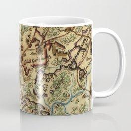 Vintage Spotsylvania Virginia Civil War Map (1865) Coffee Mug