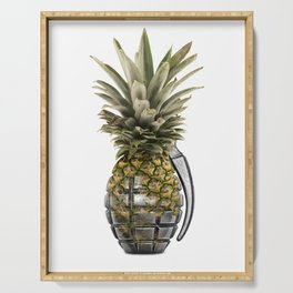 Pineapple Grenade Serving Tray