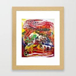 American Consumption  Framed Art Print