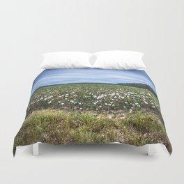 Cotton Fields  Duvet Cover